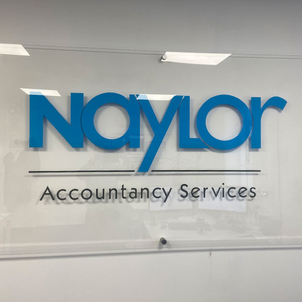 Naylor Accountancy Sign