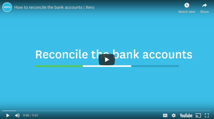 How to reconcile bank accounts